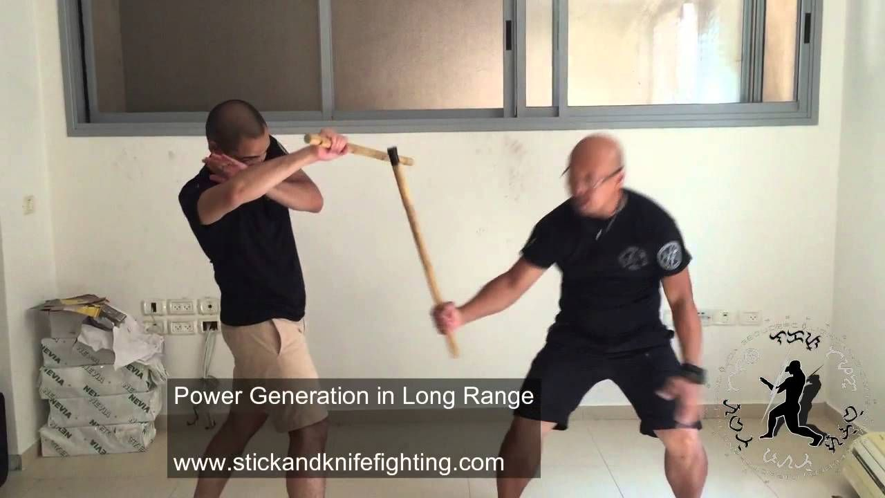Lightning Combatives Power Generation For Stick Fighting in Long Range