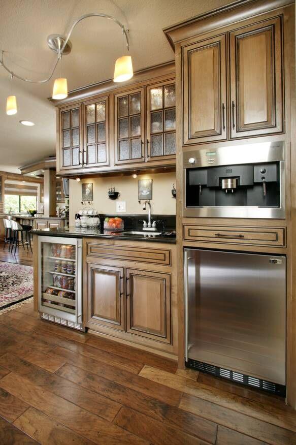 home kitchen beverage center