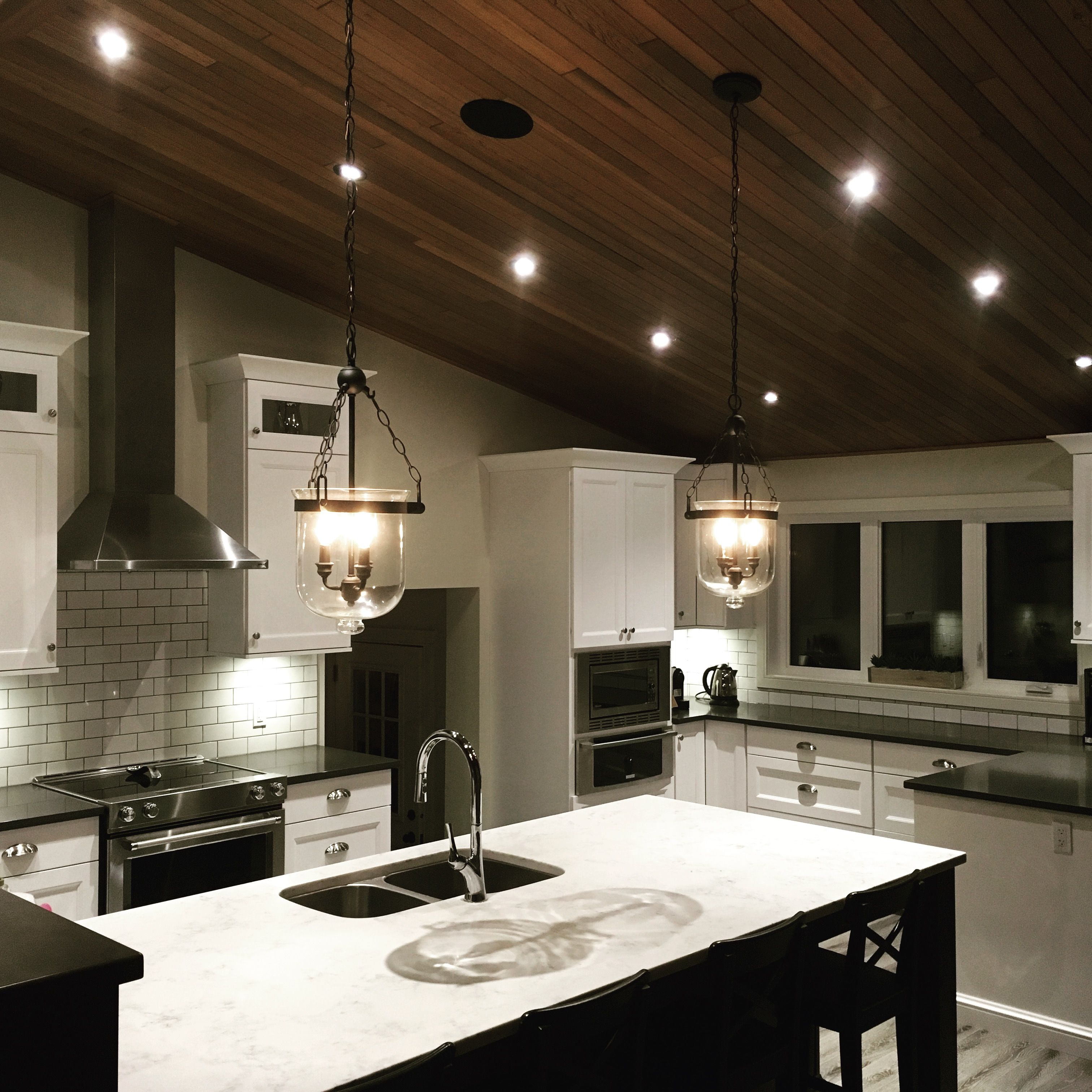 Kitchen Reno, Lutron Radio Ra2 Lighting Control, Russound Audio System