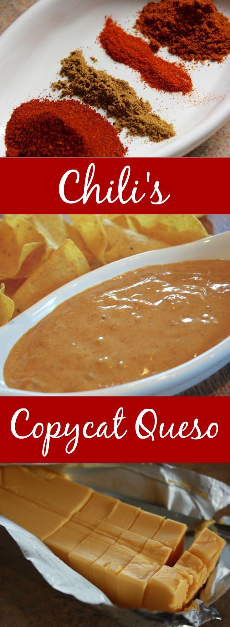 Copycat Chili's Restaurant Menu Item: Chili's Skillet Queso ...