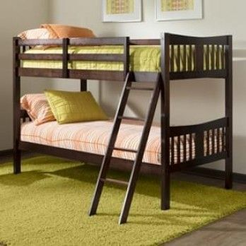 Buy Becky Bunk Bed Mahogany Finish Online In India At Great Discount From Wooden Street Shop Modern Innovative And Multi Utility Beds