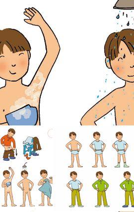 Illustrations pour s quences p dagogiques ted commande - Dessin se laver ...