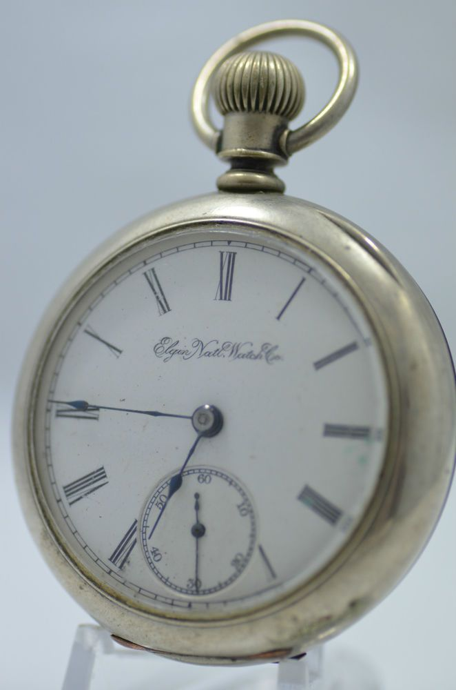2 Antique Elgin pocket watches #Elgin