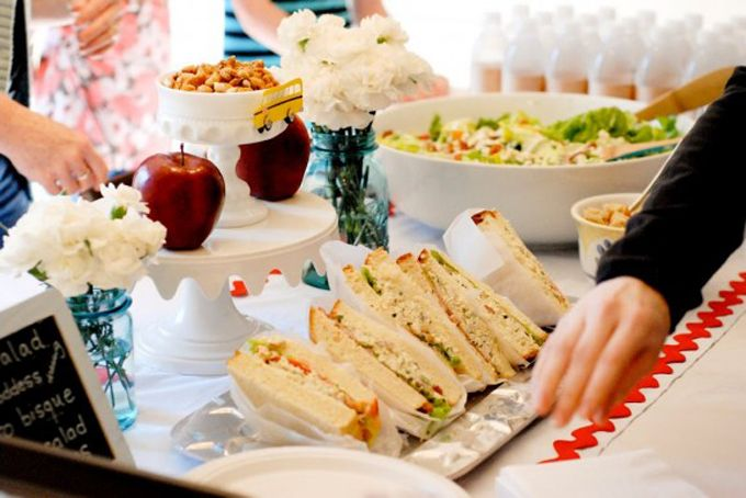 ideas baby shower comida | baby showrr | Pinterest | Mesas, Bebé y ...