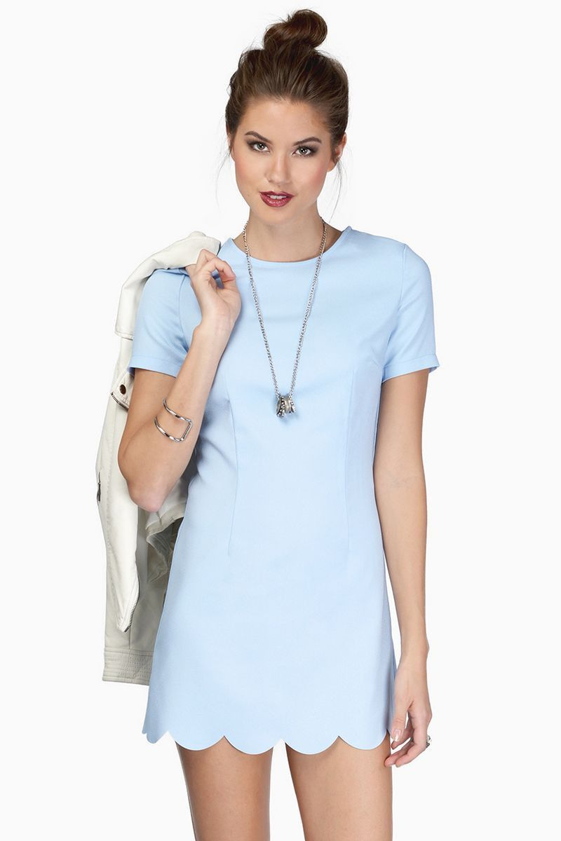 Europea Style Wave Pointed Slim Dress LAVELIQ