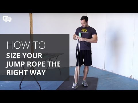Not Sure What Jump Rope Size Is Right For You No Problem We Re Here To Give You Some Guidance On How To Properly S In 2020 Jump Rope Jump Rope Training