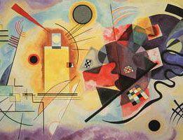 Wassily Kandinsky. Yellow-Red-Blue, 1925