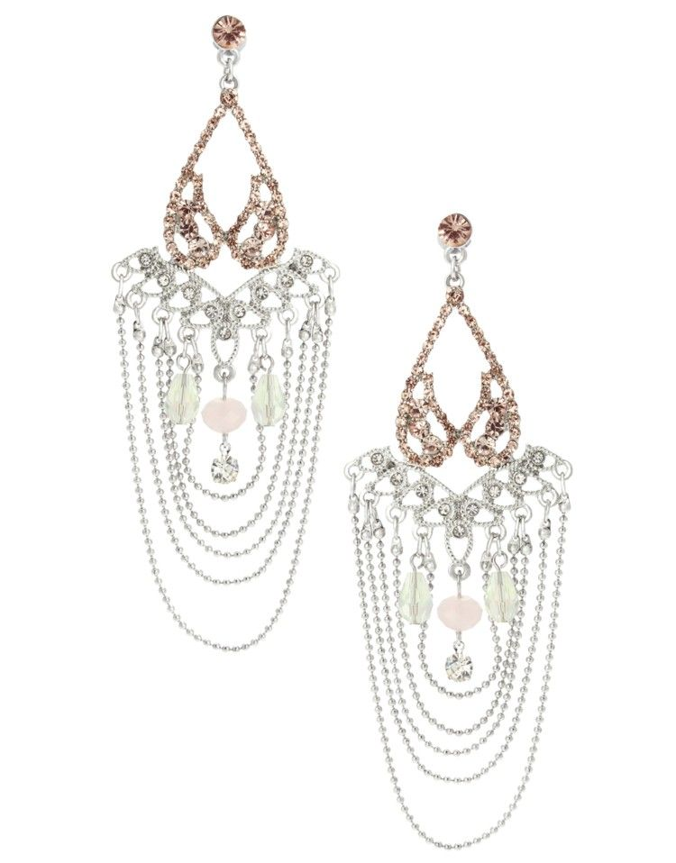 Lipsy Pretty Chandelier Earrings   Jewelry   Pinterest   Lipsy ...