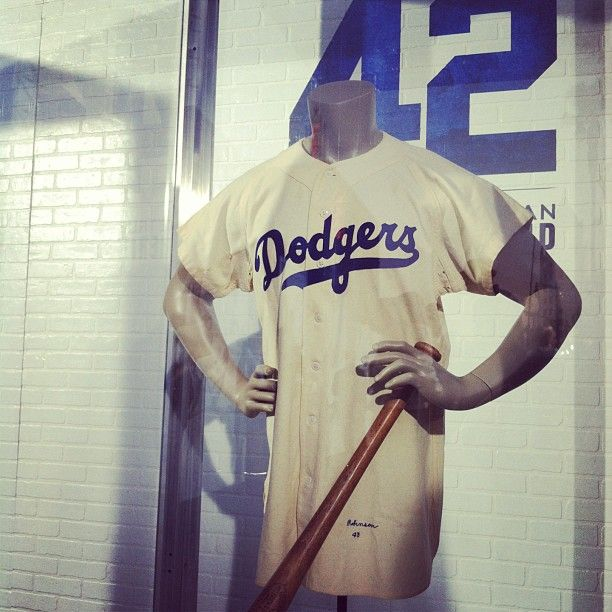 reputable site 5e403 38b0c Original #BrooklynDodgers #baseball jersey worn by ...