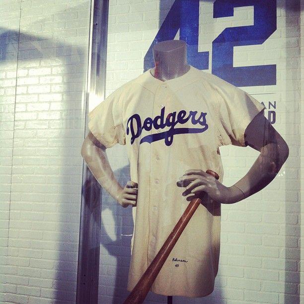 reputable site d35ad 6fbaf Original #BrooklynDodgers #baseball jersey worn by ...
