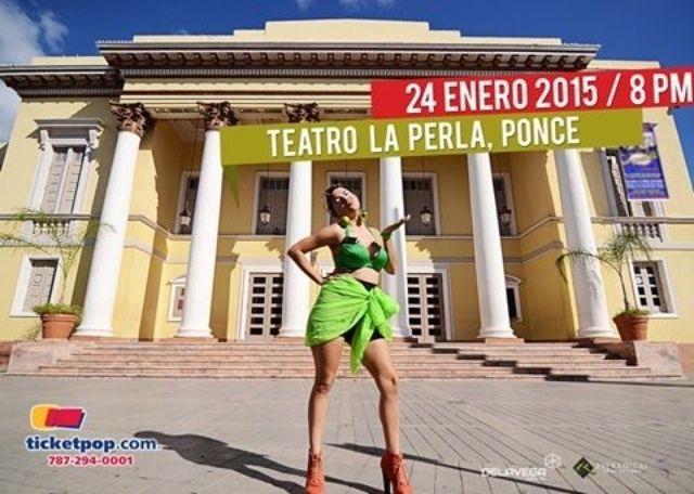 """Natalia Lugo """"La Cosa Ta' Mala el sábado 24 de enero Teatro La Perla, Ponce. Detalles en http://bit.ly/1Gg6qxb"""