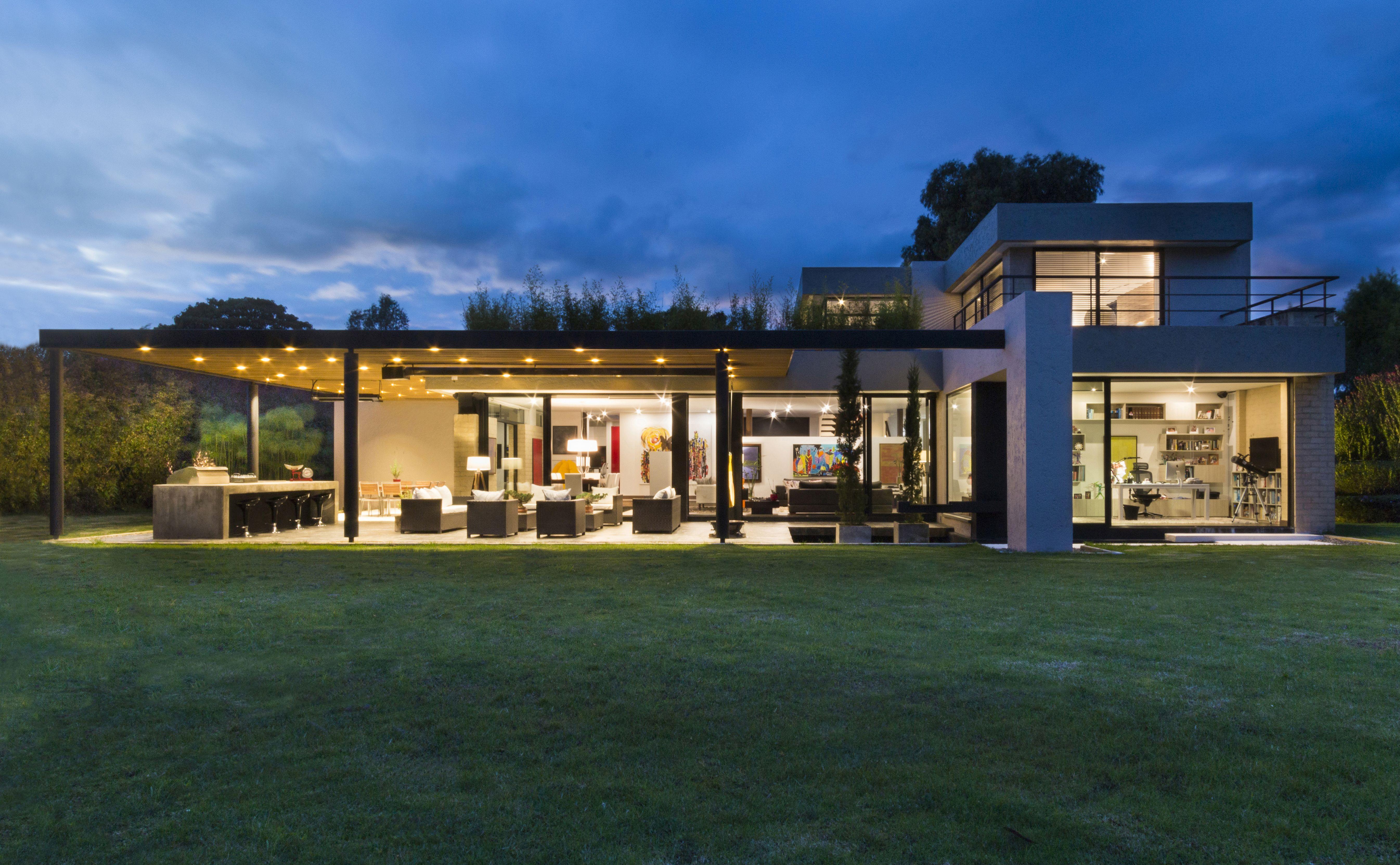 Casa Galeria Pérgola Club Pradera Potosi Arquitectura