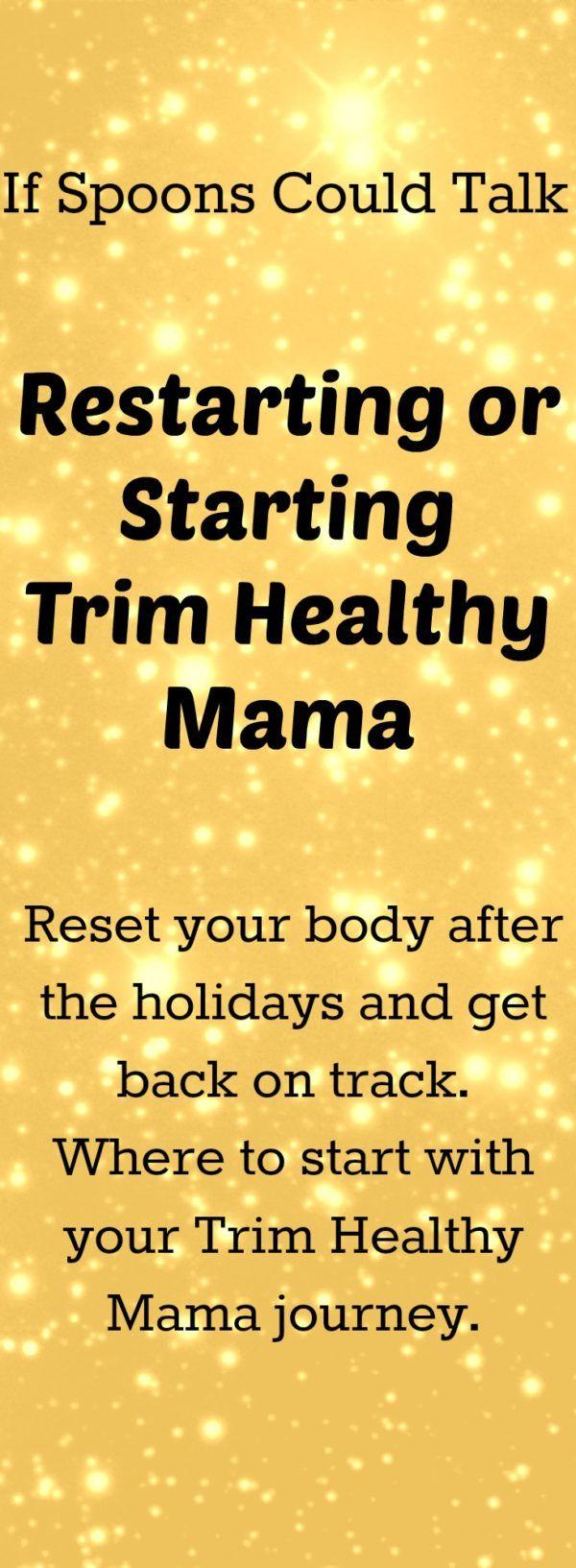 Photo of Möchten Sie Trim Healthy Mama starten oder müssen Sie wieder auf Plan af …