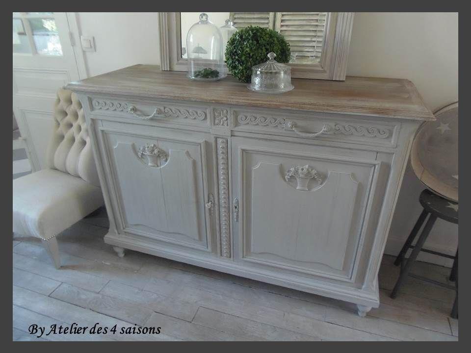 Buffet Revisite Par L Atelierdes4saisons Mobilier De Salon Decoration Meuble Relooking De Mobilier