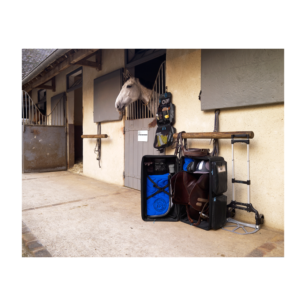 Malle Equitation Malle De Concours Travel Bag Color Horse And Travel