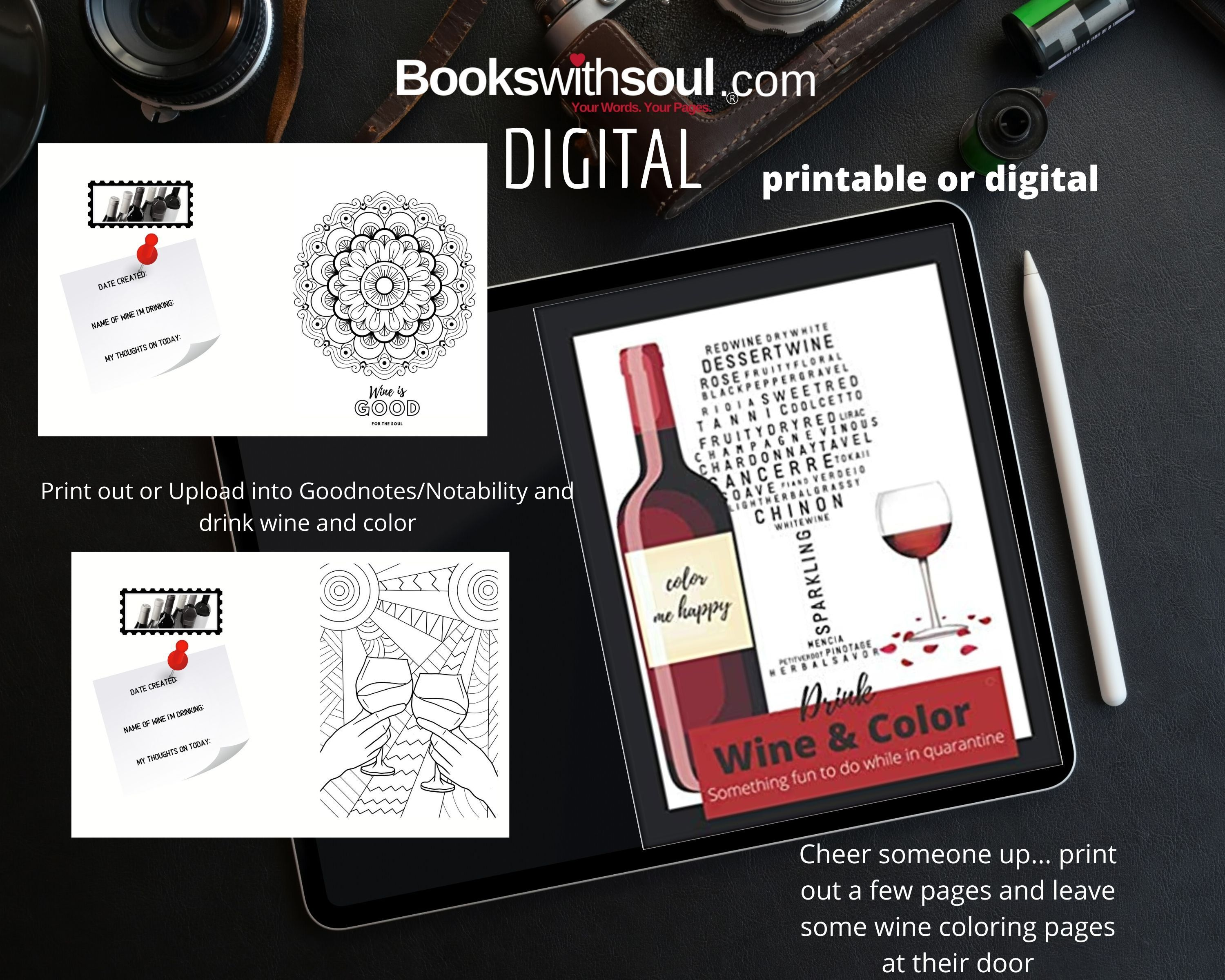 Pin On Books With Soul Printables