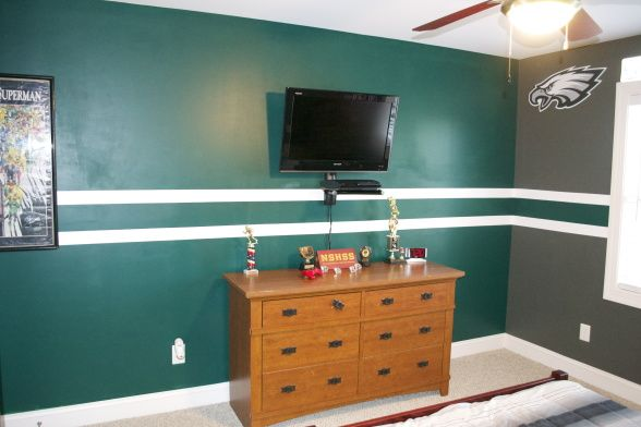 Phi Eagles Theme Idea For Matt S Cave Madison S Room