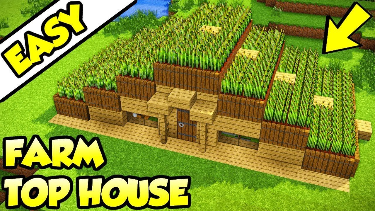 Minecraft The Ultimate Survival House Tutorial How To Build Youtube Minecraft Farm Minecraft Survival Minecraft