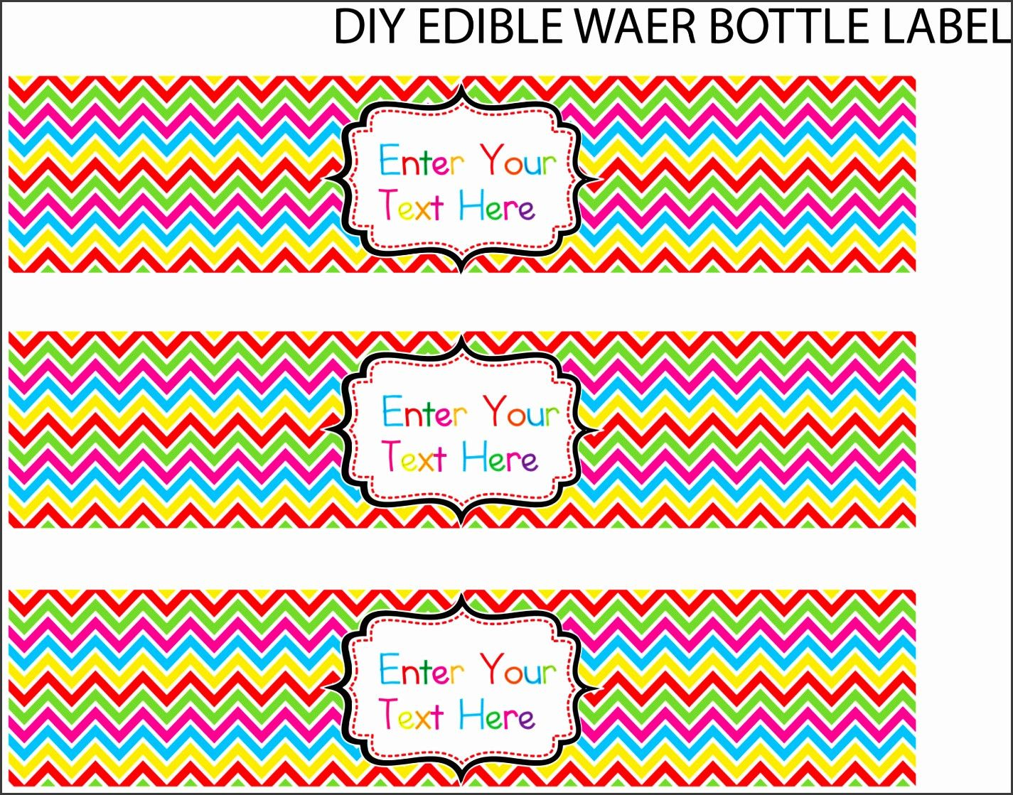 Water Bottle Label Template Free Word Awesome 8 Water Bottle Label Template Free Word Sample Water Bottle Labels Template Bottle Label Template Label Templates Water bottle labels template word