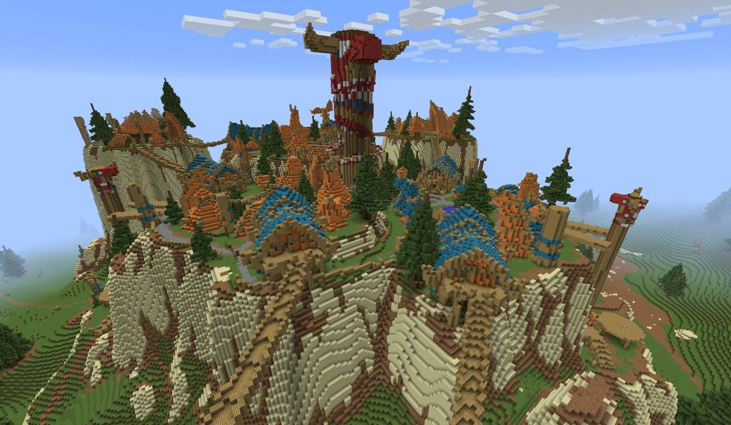 minecraft world map mod | Minecraft meets WoW with the ...