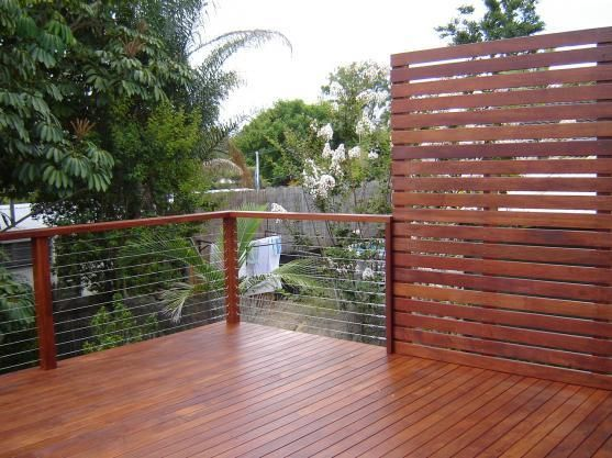 Hipages Com Au Is A Renovation Resource And Online Community With Thousands Of Home And Garden Photos Privacy Screen Outdoor Decks Backyard Deck Privacy
