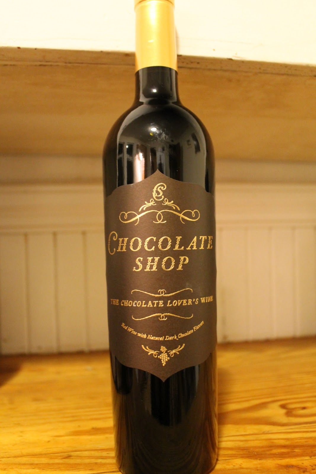 Chocolate Shop wine - a great Valentine Day drink! | Valentine's ...