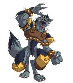 Fenris is a powerful wolf-like Titan, the only known specimen of which once roamed through the caves under the Temple of Thor. This wild and animalistic Titan was later used by Montehue, becoming among his choice Titans in the fight against evil Seeker groups. Many Seekers think Fenris and Wolf Knight were behind the legends of werewolves.