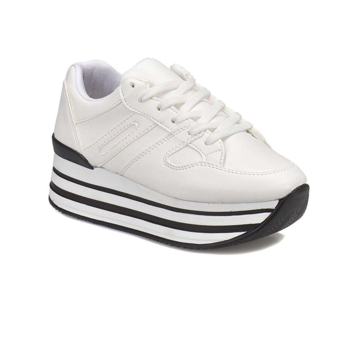 Butigo Beyaz Kadin Sneaker Sneaker Ayakkabilar Kadin