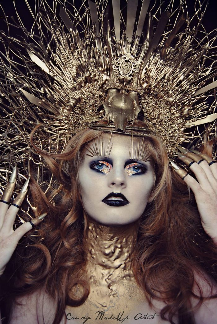 Extreme Make-Up Art Inspired By Dark Fantasy World | Bored ...