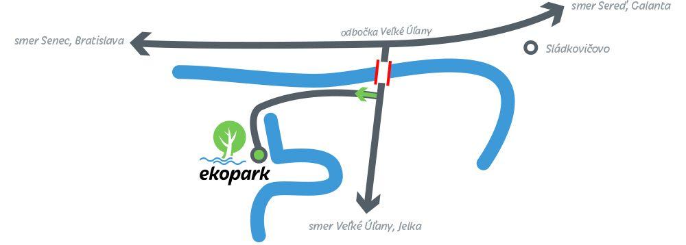 Ekopark Relax Mapa