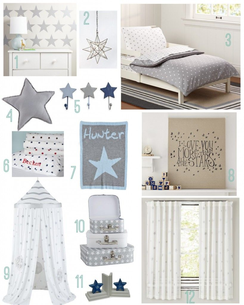 Star Themed Kids Room Nursery Themes