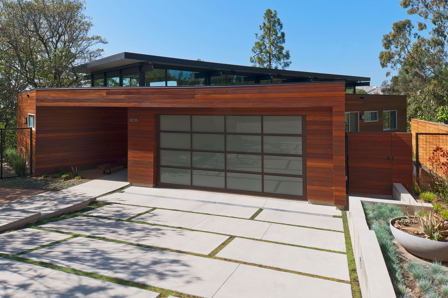 Love The Drive Modern Garage Doors Garage Design Modern Garage