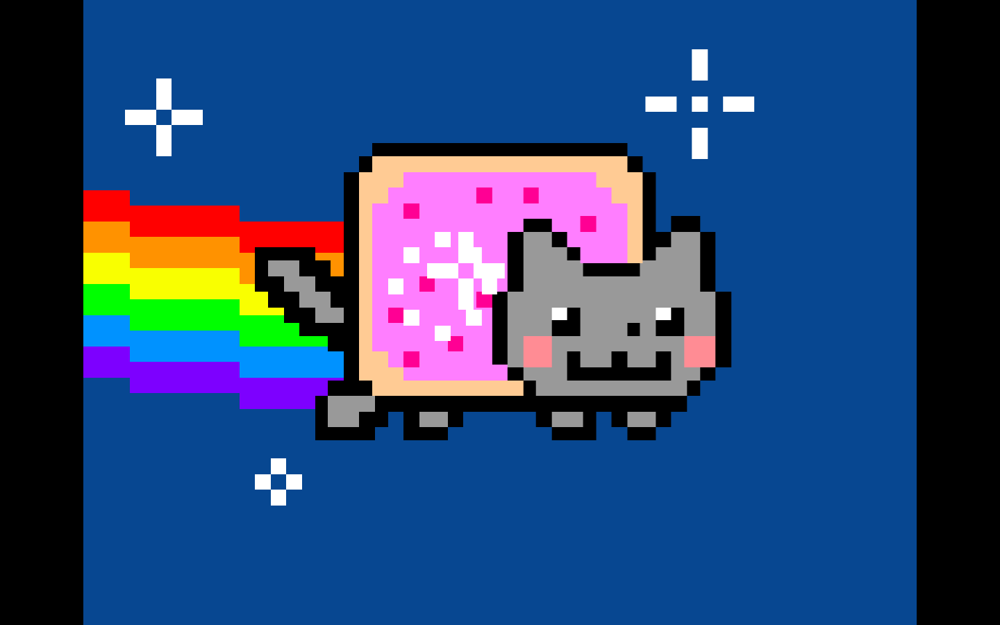 Pin By Awesome Person On Nyan Cat Nyan Cat Cat Background Funny Cat Compilation