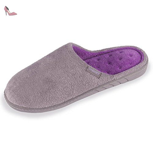 e6e583235c6 Chaussons mules femme unis Isotoner 41 - Chaussures isotoner ( Partner-Link)