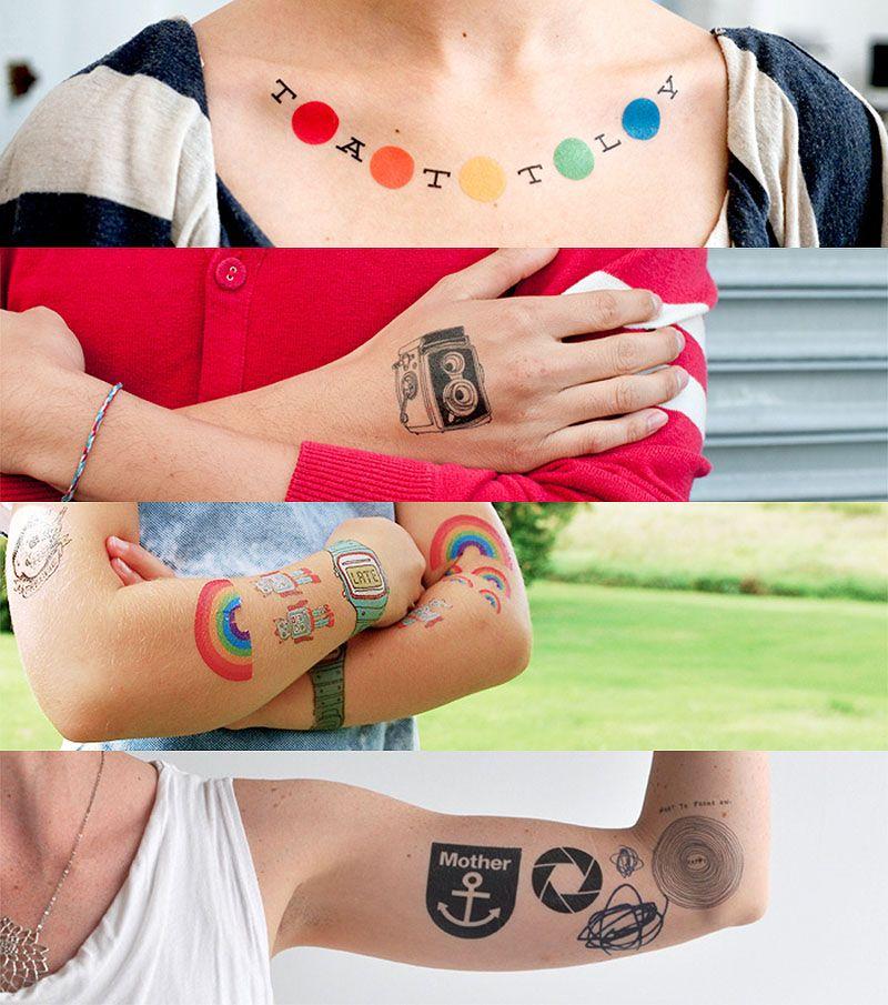 full of colors tattoo