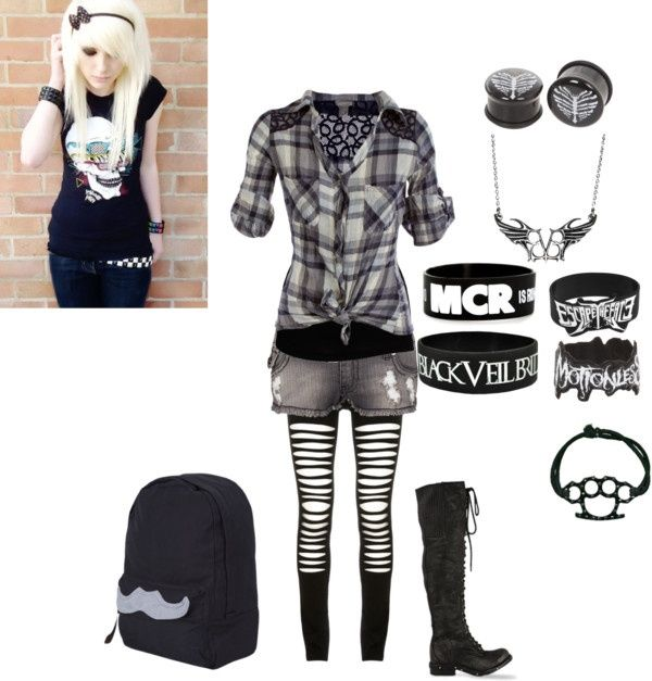 Grunge- emo | Outfits | Pinterest | Grunge Emo and Clothes