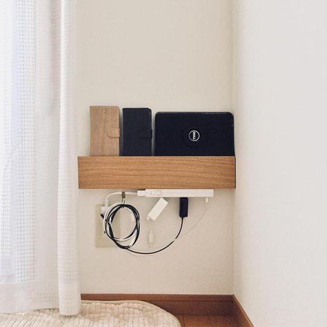 無印「壁に付けられる家具」インテリア術25選 | Muji, Smallest house and Room