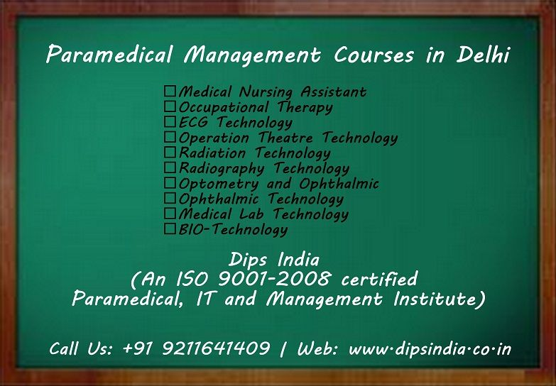 Pin by Dips India on Paramedical and Management Institutes Delhi