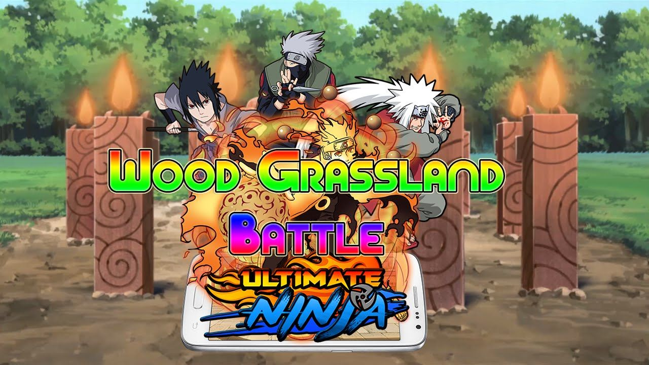 Ultimate Ninja Wood Grassland Battle Naruto Game