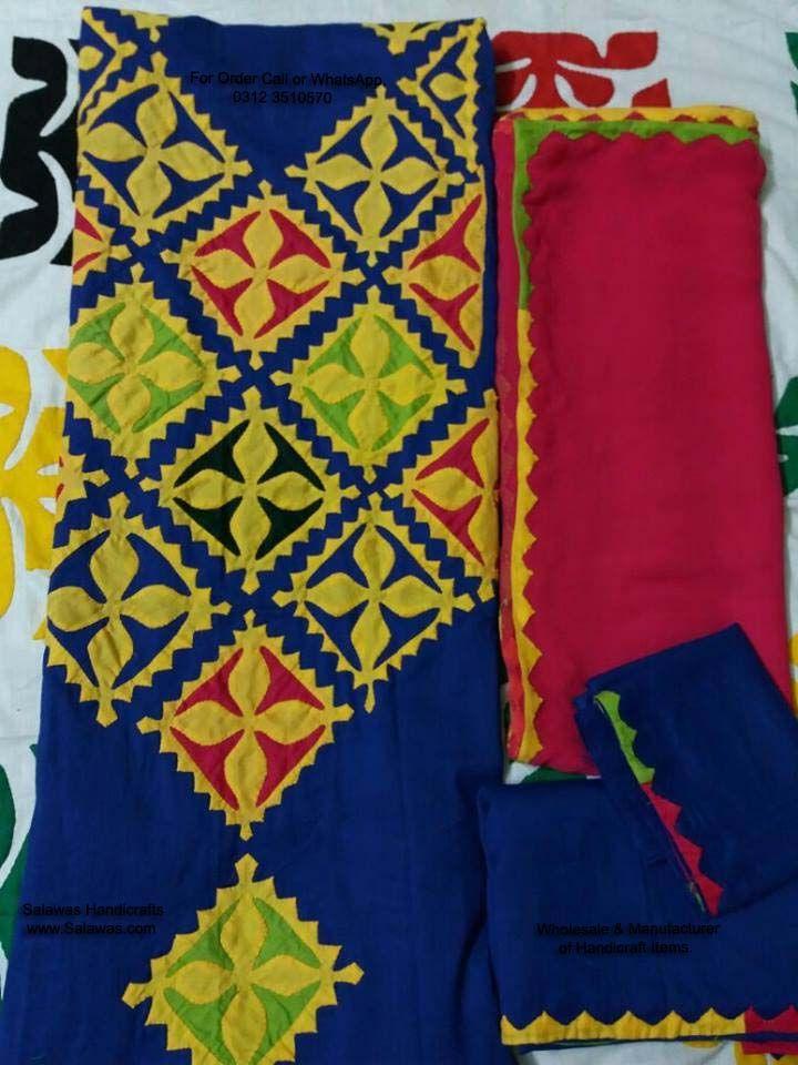 Applique Work Designs Handmade Sindhi Dresses Best Designs Available