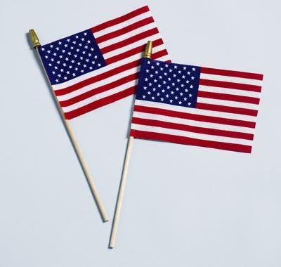 American Handheld Stick Flag No Fray Us Flag 4 Flag Store China Flag Cotton Flag