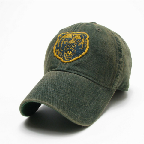 The Baylor Growling Bear Vintage Hat from