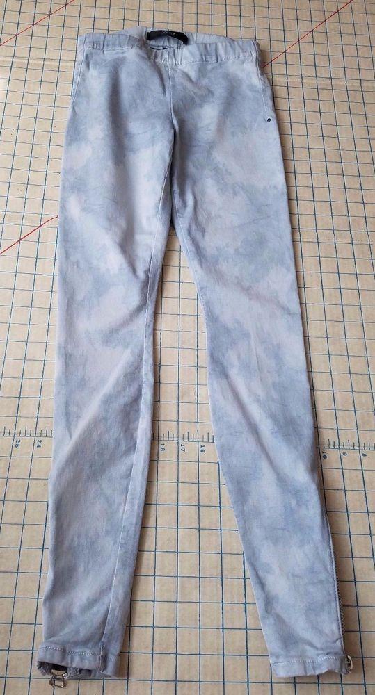 b9ad9104 JOES JEANS The Legging Blue Camo denim ankle Zip JEGGINGS Tie Dye XS # JoesJeans #Jeggings