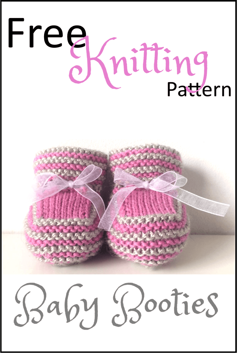 6c779d5de Stash Busting Baby Booties Free Knitting Pattern - Daisy and Storm ...