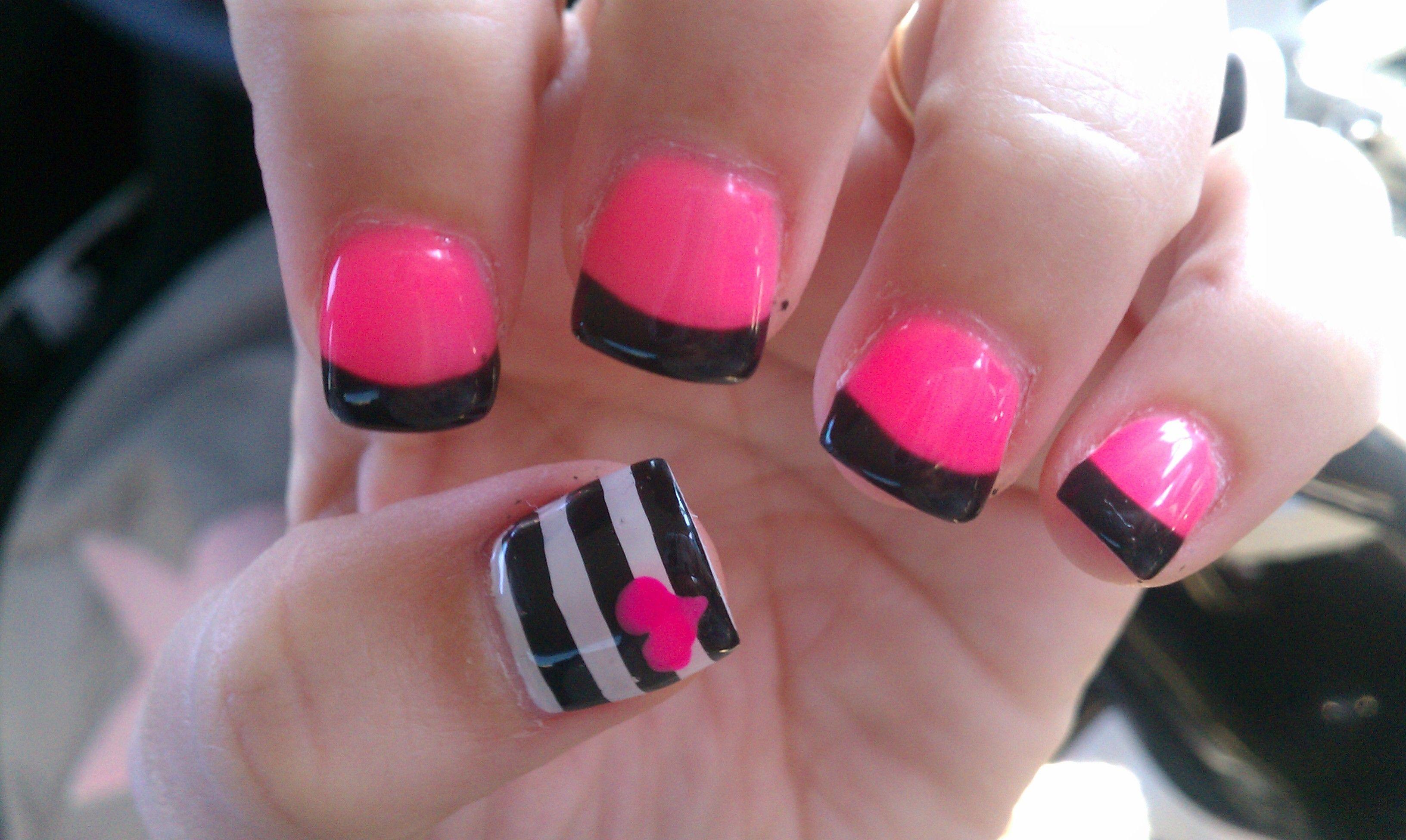 My Super Cute Valentines Day Nails Nail Stuff Pinterest Nail