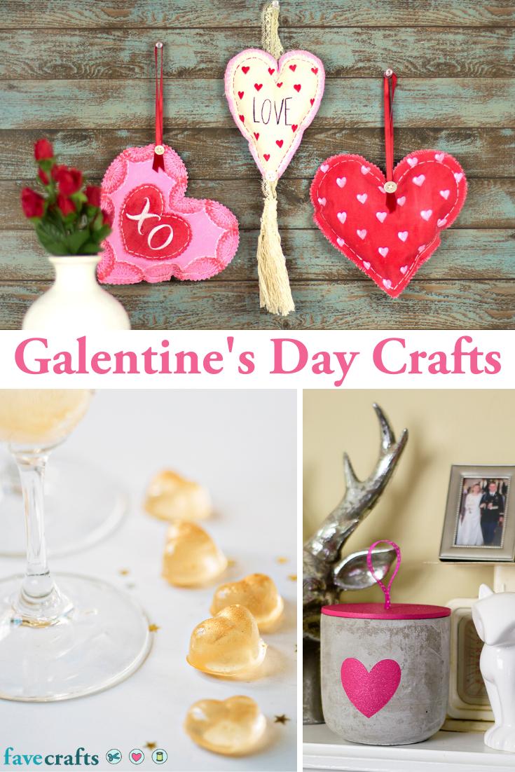 24 Galentine S Day Crafts Valentine Day Crafts Crafts Galentines