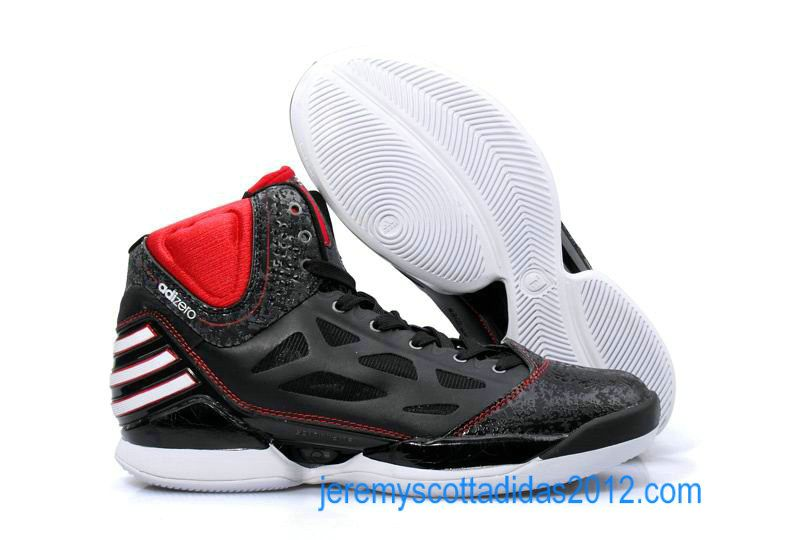 0a1c3bbe9f0f Adidas Derrick Rose Adizero Dominate Black Variety Red White