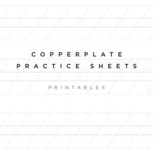 copperplate calligraphy practice sheets printable free