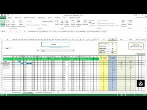 Planilla De Excel De Calendario De Vacaciones De Empleados Planillaexcel Com Calendario De Vacaciones Informatica Y Computacion Calendario