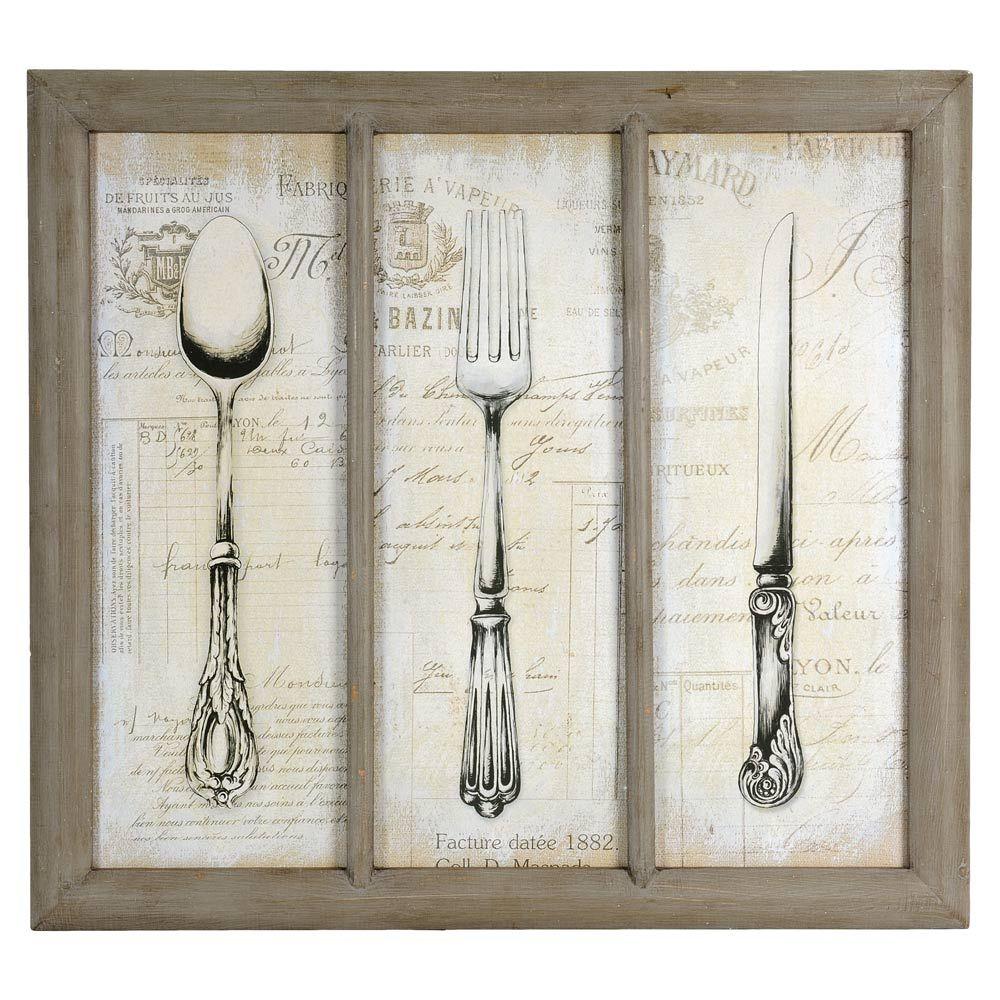 Cuadros con cubiertos antiguos buscar con google ideas - Cuadros cocina vintage ...